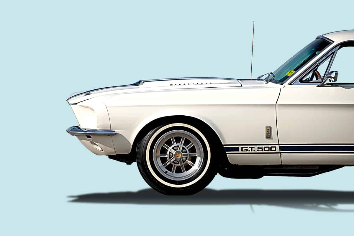 GT500 side view